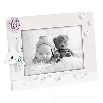 Cornice Portafoto Orizzontale in Legno 13x18 cm Bambina