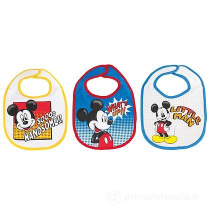 3 Bavaglini Disney Mickey