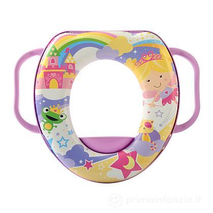 Riduttore WC soft con manici Fairy Tales