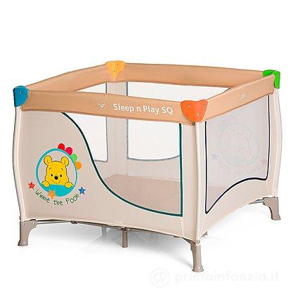 Lettino Box Sleep'n play SQ Winne the Pooh
