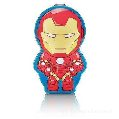 Torcia portatile LED Iron Men