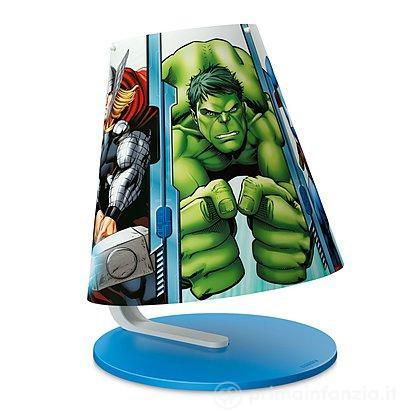 Lampada da tavolo LED Avengers
