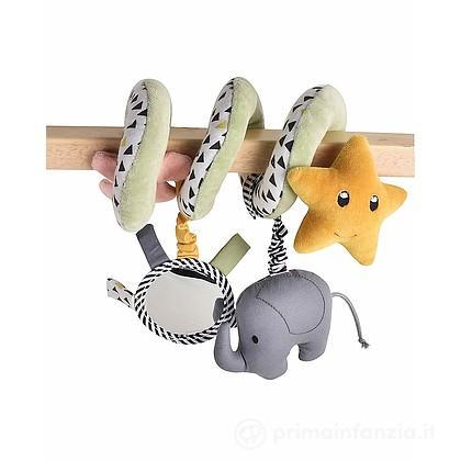 Gioco Spirale Elefantino e Stella in Cotone Bio