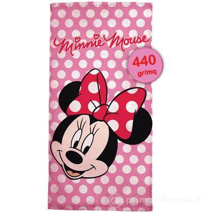 Telo mare in spugna Disney Minnie Face