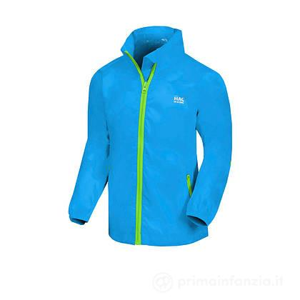 Giacca Impermeabile Junior Neon Blue