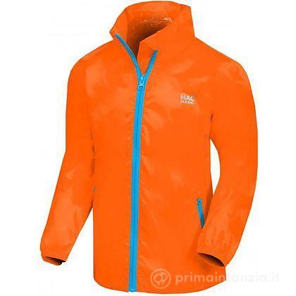 Giacca Impermeabile Junior Neon Orange