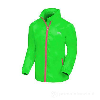 Giacca Impermeabile Junior Neon Green