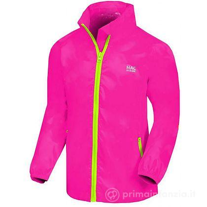 Giacca Impermeabile Junior Neon Pink