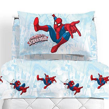 Completo lenzuola flanella Spider Man Graphic