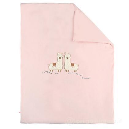 Copertina lama rosa Moris & Sacha