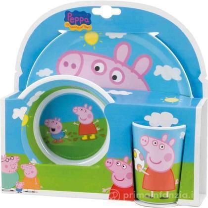 Set pappa Peppa Pig 3 pz
