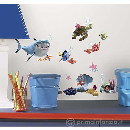Adesivi murali rimovibili Finding Nemo