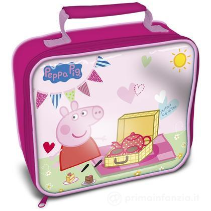 Cestino porta merenda termico Peppa Pig