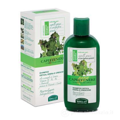 Shampoo ortica, edera e crescione