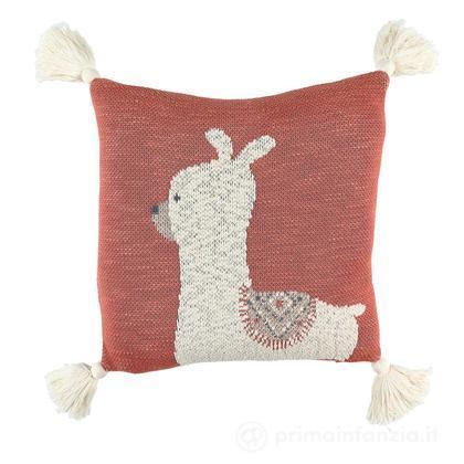 Cuscino lama in cotone biologico
