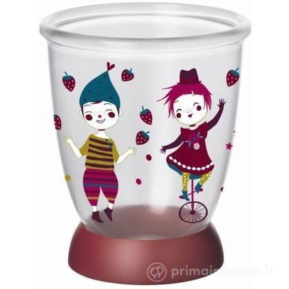 Bicchiere con base antiscivolo