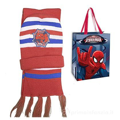 Set cappello e sciarpa Spider Man