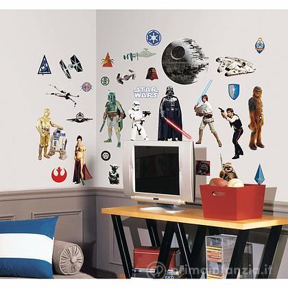 Adesivi murali rimovibili Star Wars Classic