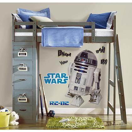 Adesivi murali rimovibili R2-D2 Giant