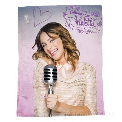 Plaid in pile Disney Violetta Rock