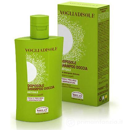 Doposole shampoo doccia antisale corpo e capelli