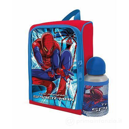 Zainetto Asilo con borraccia Spiderman