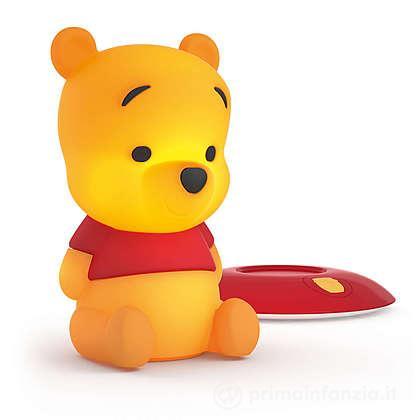 Lucina da notte LED Winnie the Pooh SoftPal portatile