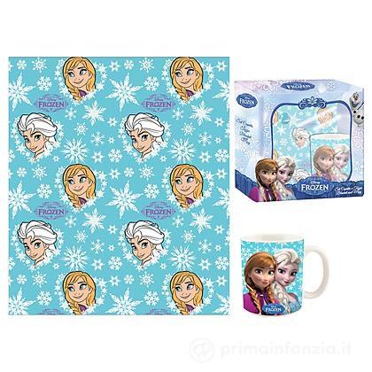 Set coperta e tazza Frozen