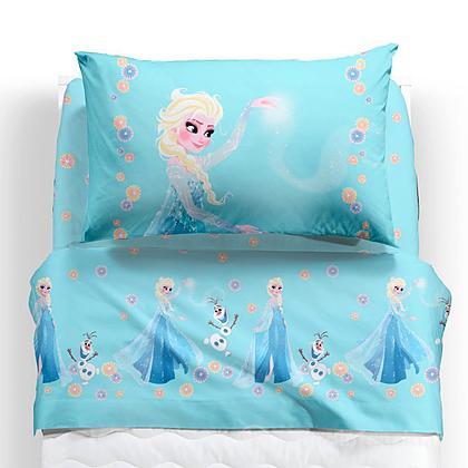 Completo lenzuola Frozen Magia