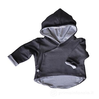 Cardigan double face Hooded