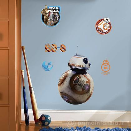 Adesivi murali rimovibili The Force Awakens BB-8 Giant