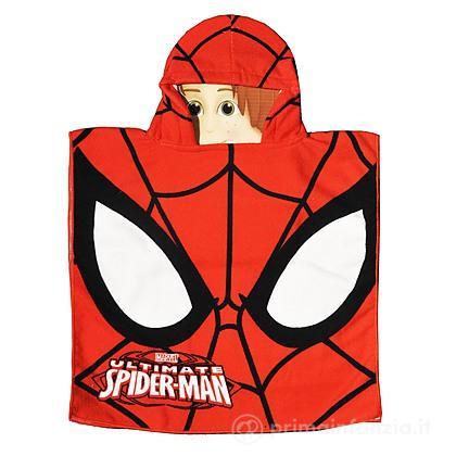 Accappatoio poncho Spider Man