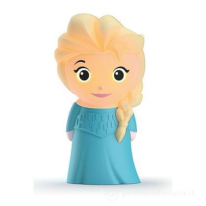 Lucina da notte LED Frozen Elsa SoftPal