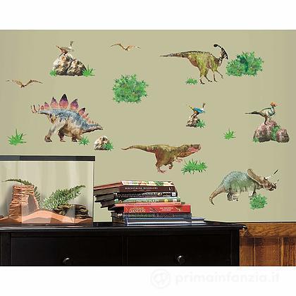 Adesivi murali rimovibili Dinosaur