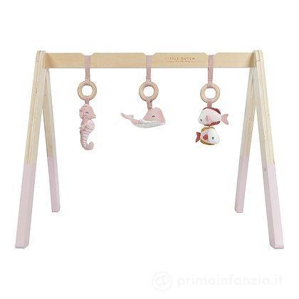 Palestrina in legno Ocean pink