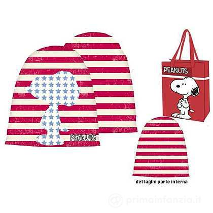 Cappello in jearsy Snoopy
