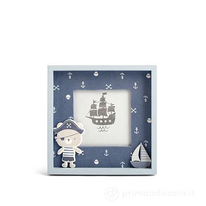 Porta foto in legno Pirata 10 x 10 cm