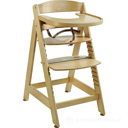 Seggiolone in legno Sit Up Maxi