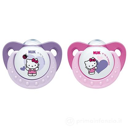 2 Succhietti Hello Kitty in silicone 0-6m