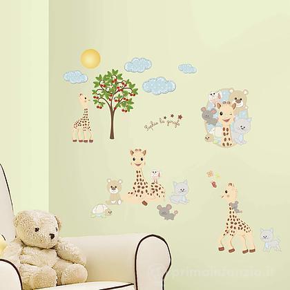 Adesivi murali rimovibili Sophie La Giraffe