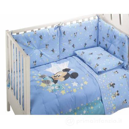 Completo lenzuola lettino Mickey Dream