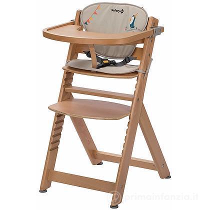 Seggiolone in legno Timba con Cuscino