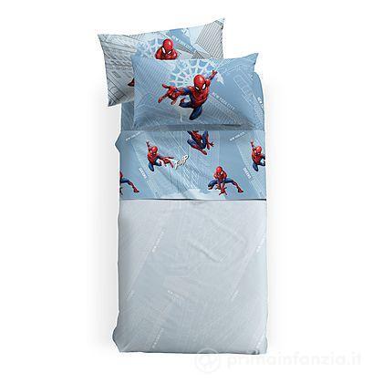 Completo Lenzuola flanella Spider Man Manhattan