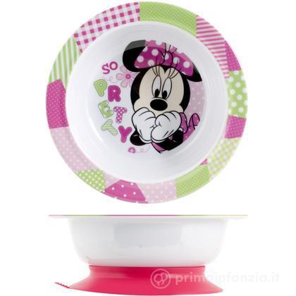 Piatto fondo Minnie con ventosa