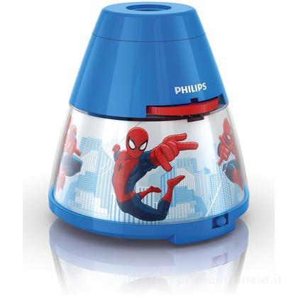Luce notturna LED e proiettore 2 in 1 Spiderman