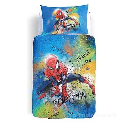 Parure Copripiumino Singolo Spiderman
