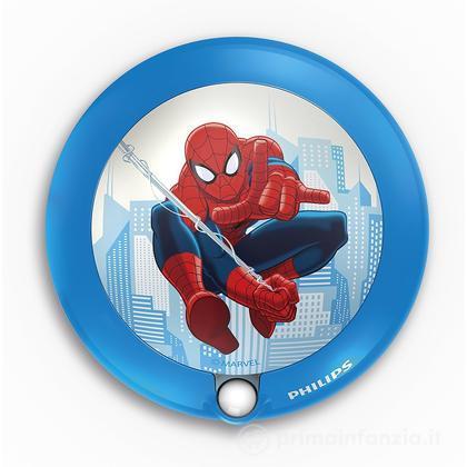 Lucina da notte LED con sensore Spiderman