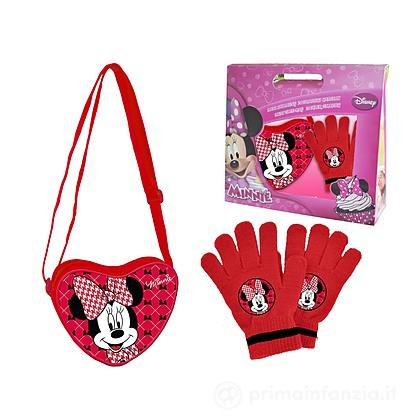 Set tracolla e guanti Minnie