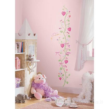 Adesivi murali rimovibili Fairy Princess Growth Chart