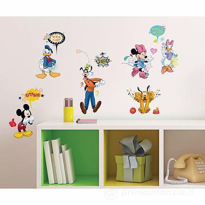 Adesivi murali rimovibili Mickey and Friends Animated Fun
